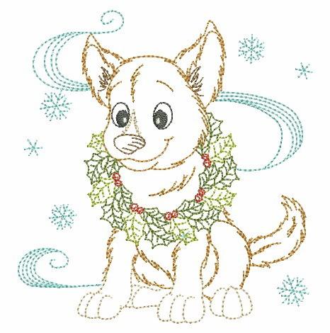 Christmas Dogs-12