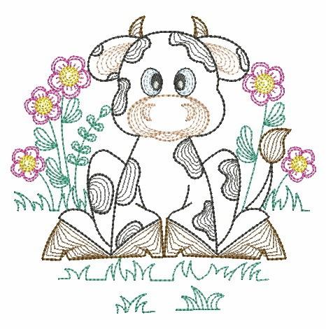 Vintage Farm Animals-11
