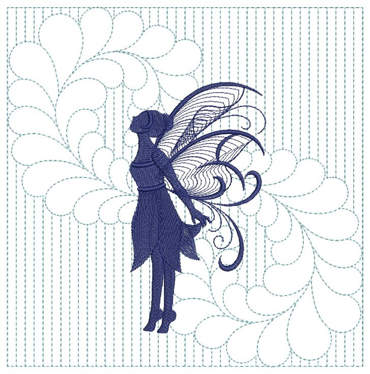 Trapunto Fairy Quilts-5