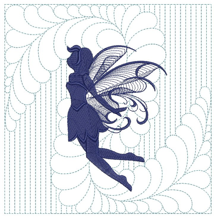 Trapunto Fairy Quilts-6