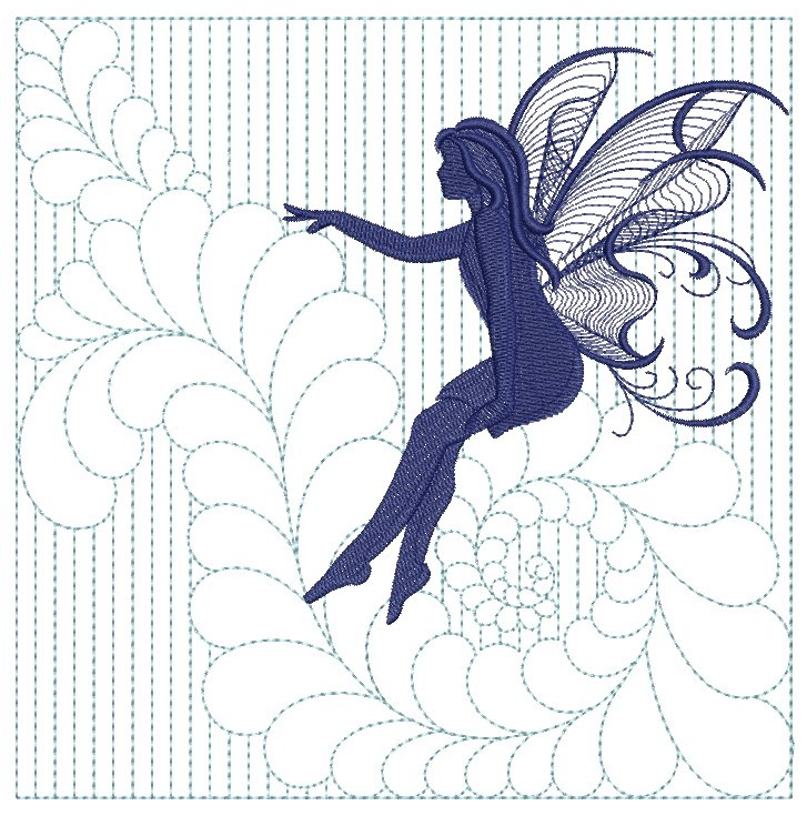 Trapunto Fairy Quilts-8