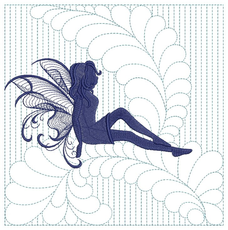 Trapunto Fairy Quilts-9
