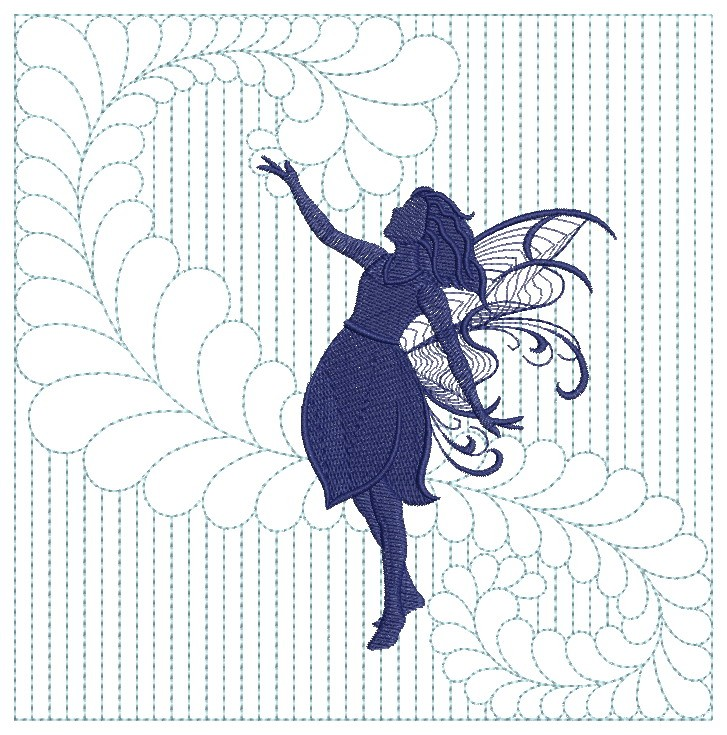 Trapunto Fairy Quilts-11
