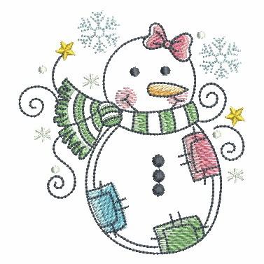 Winter Snowmen-3