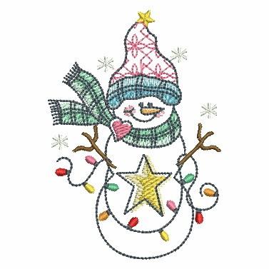 Winter Snowmen-4