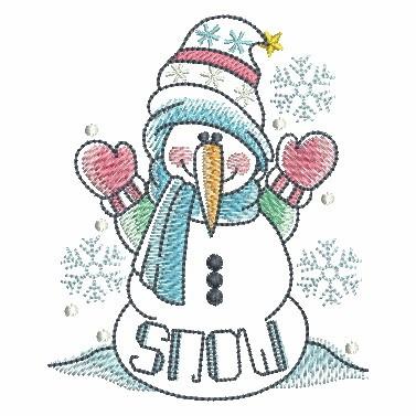 Winter Snowmen-5