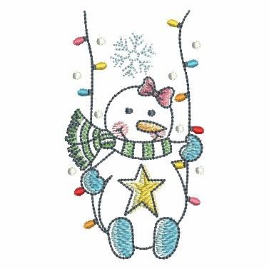 Winter Snowmen-6