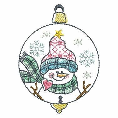 Winter Snowmen-7