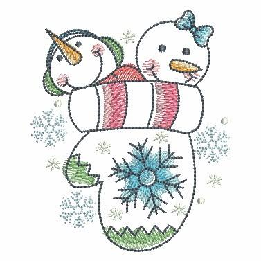 Winter Snowmen-8