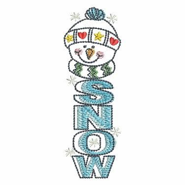 Winter Snowmen-9