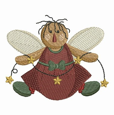 Folk Art Angel-4
