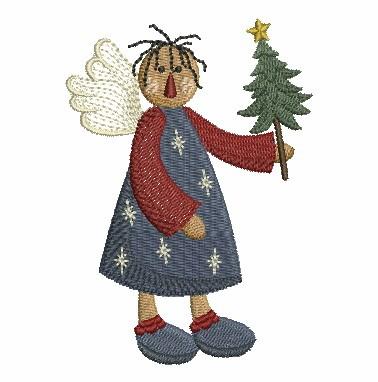 Folk Art Angel-7