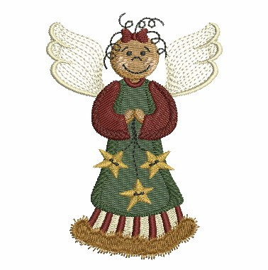 Folk Art Angel-8