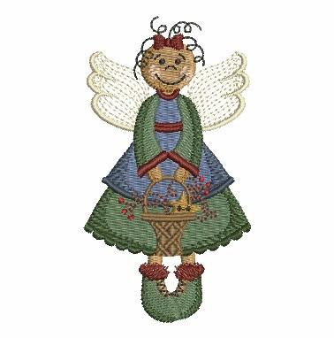 Folk Art Angel-10