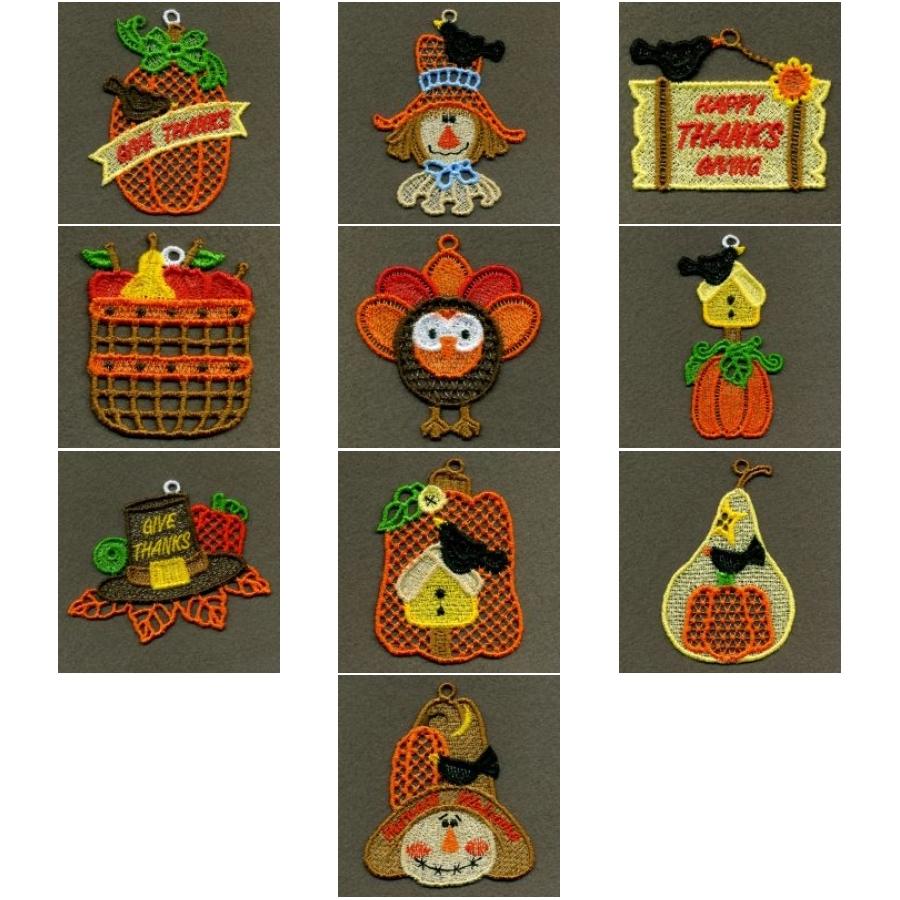 FSL Thanksgiving Ornaments 2