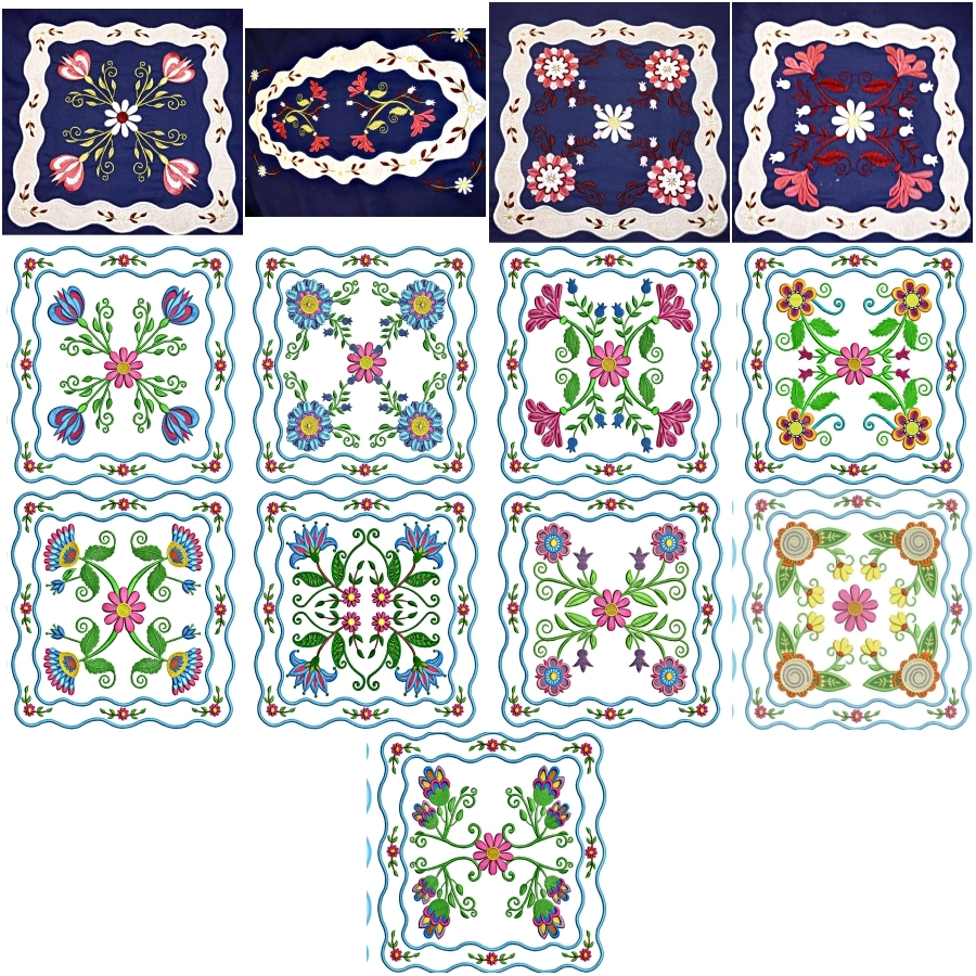 Floral Applique Quilt
