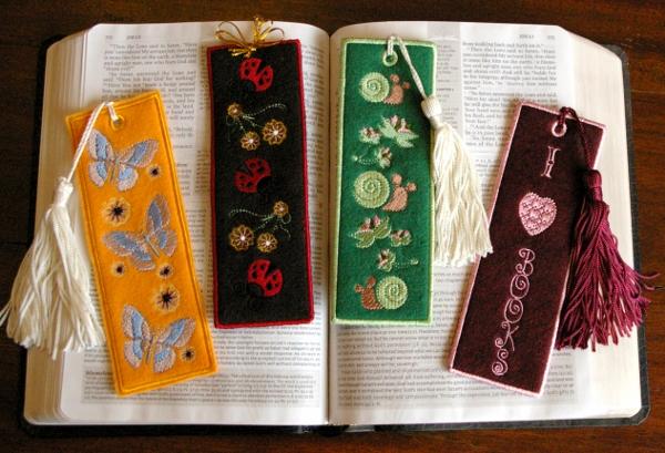 Lady Beetle Bookmark