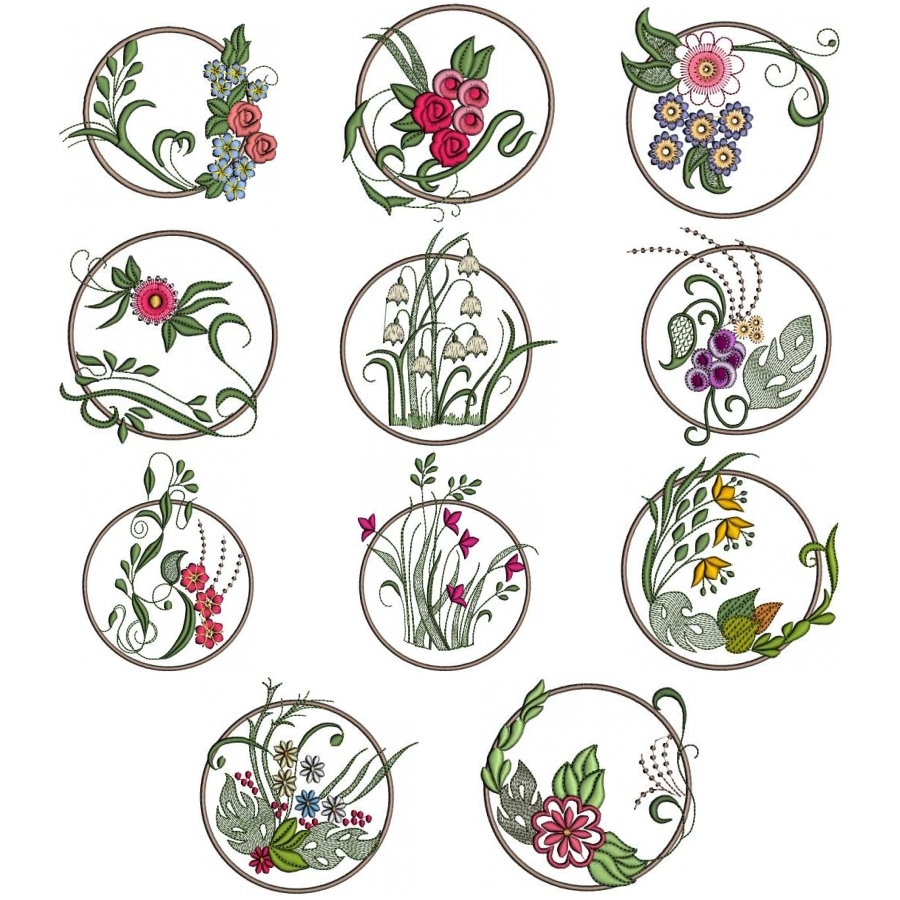 Flowers in a Ring