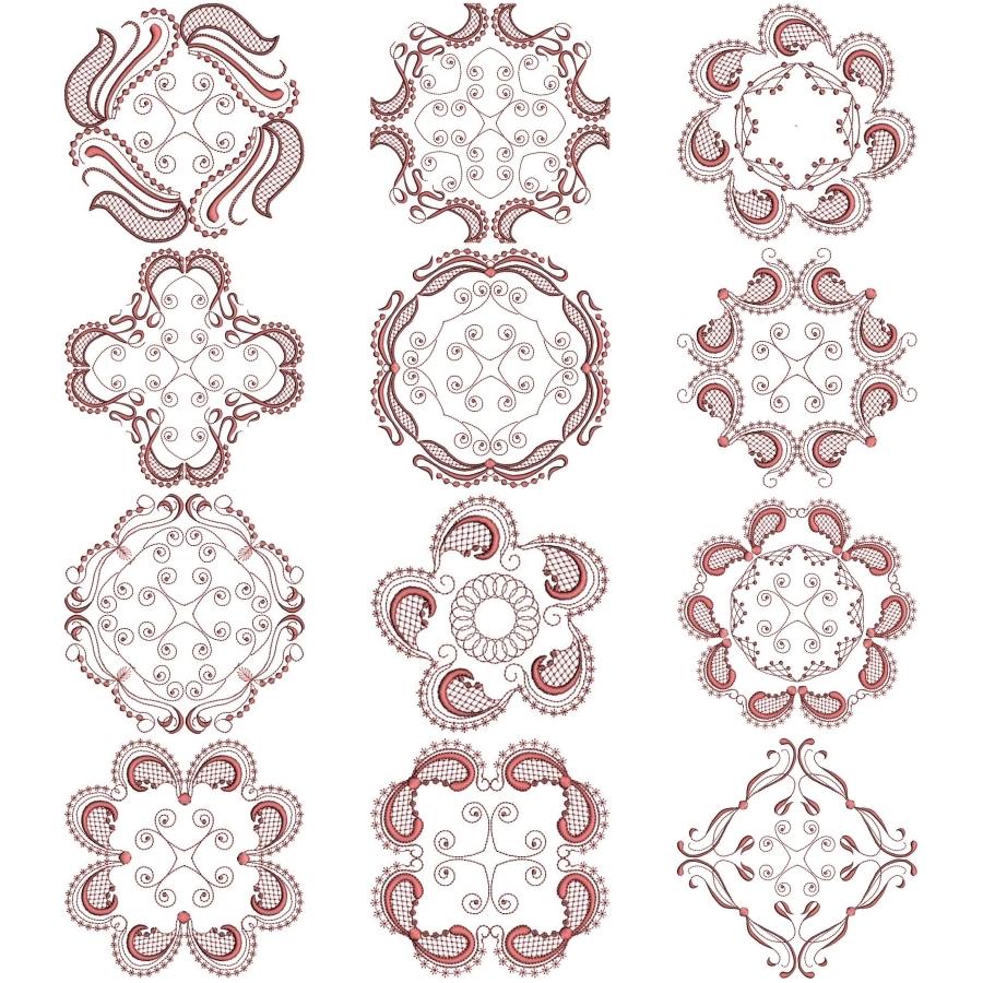 Circular Blocks for Quilts