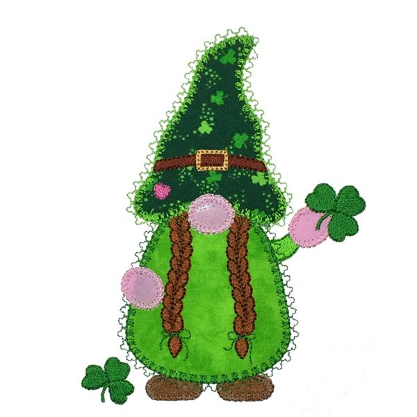 Gnome Irish Girl