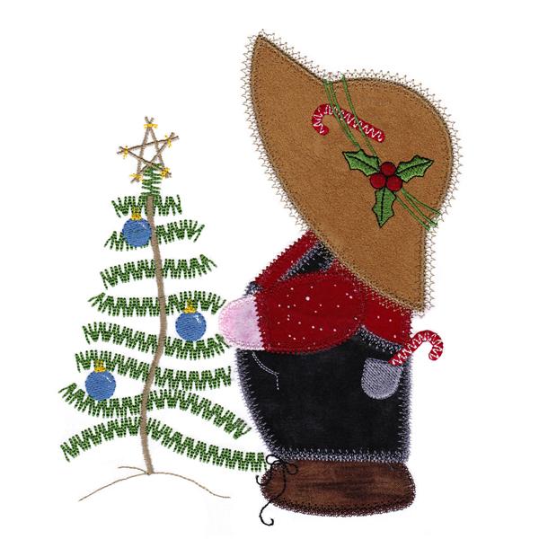 Christmas Overall Sam