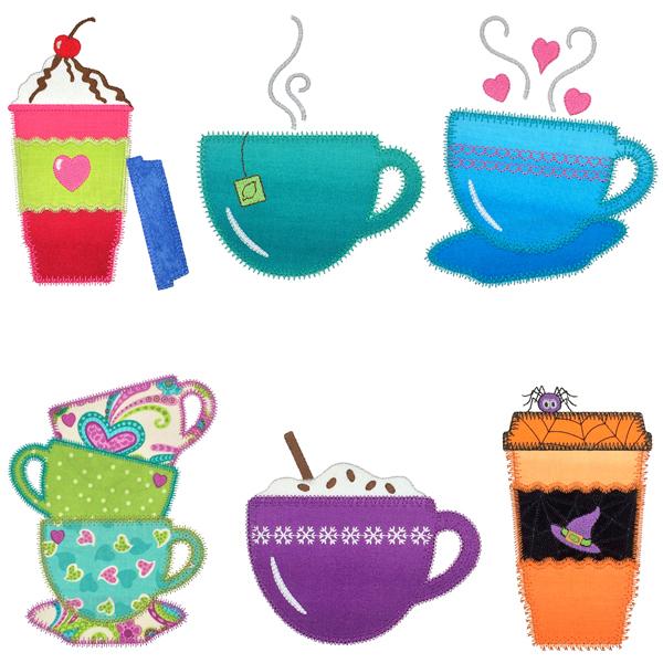 Coffee and Tea Medley set 2-3