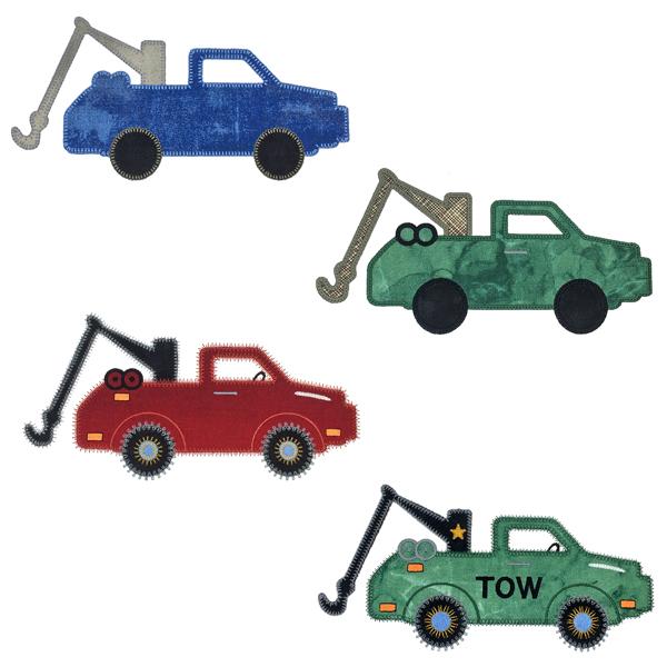 Sizzix Tow Truck-3