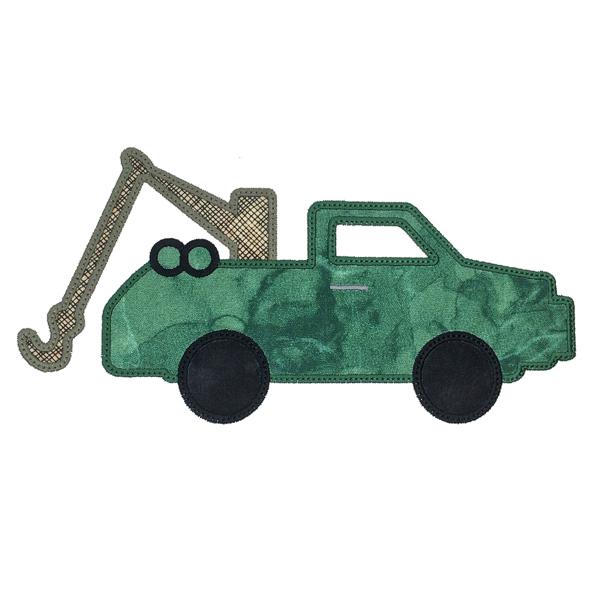 Sizzix Tow Truck-5