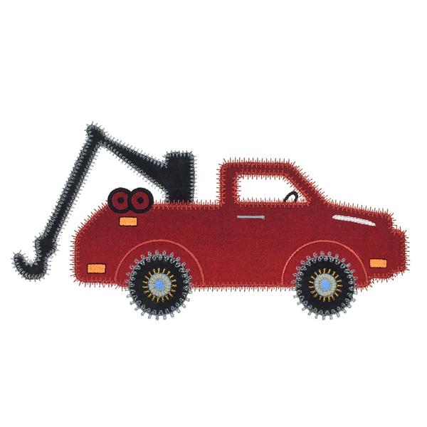 Sizzix Tow Truck-6