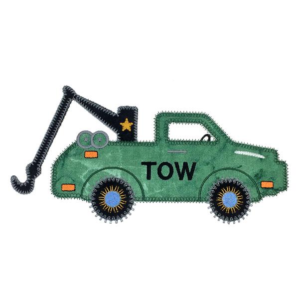 Sizzix Tow Truck-7