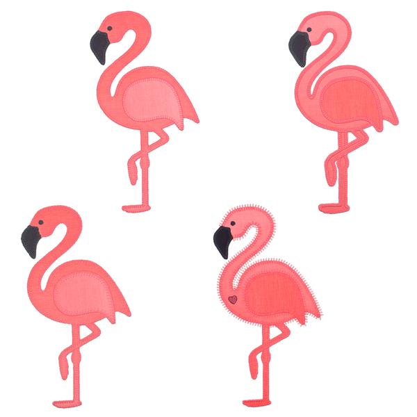 AccuQuilt Flamingo-3