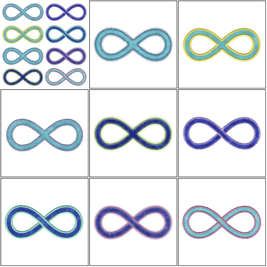 AccuCut Infinity Symbol