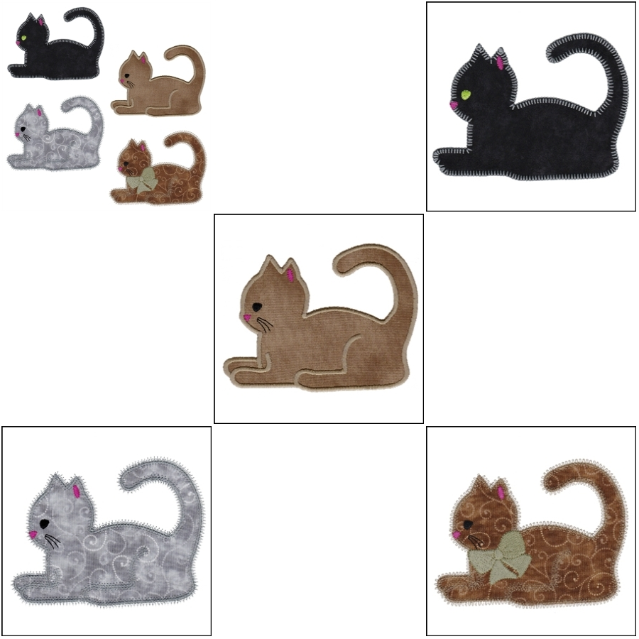 Studio Pouncing Cat