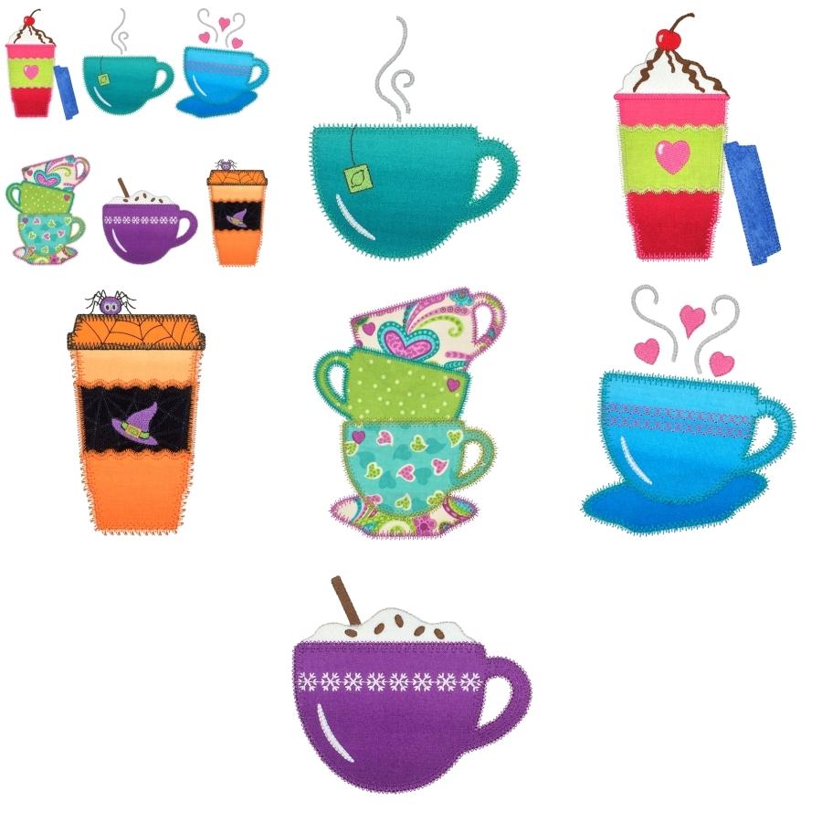 Coffee and Tea Medley set 2