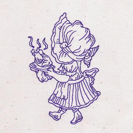 Little Miss Sunbonnet