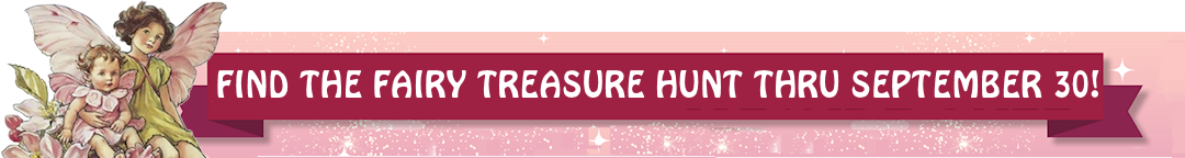 Find The Fairy Treasure Hunt Sitewide Sale of embroidery designs, Bonus prizes and gifts
