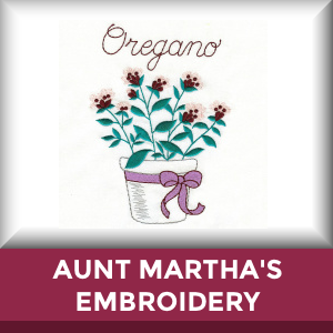 Aunt Marthas Machine Embroidery