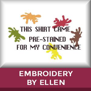 Embroidery By Ellen