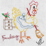 Free Sampler Provided By Aunt Marthas Embroidery
