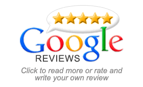 5 Star customer review on Google
