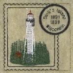 Apostle Islands Wisconsin Lighthouse Stamps