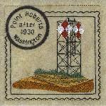 Washington 2 Lighthouse Stamps