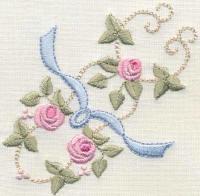 Bullion Rose Quilt 4 Heirloom Petite