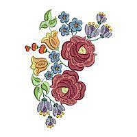 Folk Art Flowers