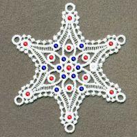 FSL Crystal Snowflakes 3 -7
