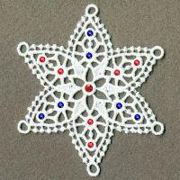 FSL Crystal Snowflakes 3 -10