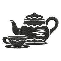 Tea Time Silhouettes