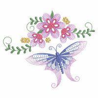 Rippled Dancing Butterflies 2