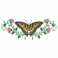 Butterfly Blooms Border