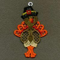 FSL Thanksgiving Ornaments